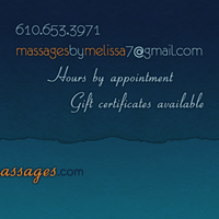 Massages by Melissa Business Card